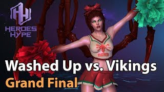 ► Heroes of the Storm: Washed Up vs. The Vikings - Grand Final HeroesHype