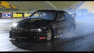 QUEEN ST CUSTOMS PAC PERFORMANCE 20B BMW TESTING AT SYDNEY DRAGWAY 24.10.2014