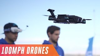 Racing drones at 100 MPH in the Las Vegas Drone Rodeo