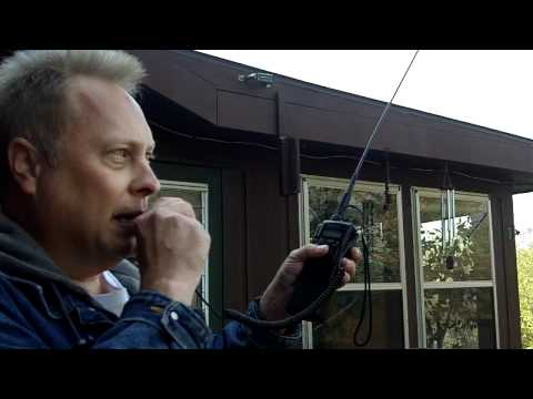 1.288 Mile 10 Meter Hand Held Ham Radio Contact by WD0AKX