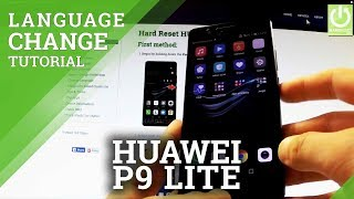 Change Language in HUAWEI L21 P9 Lite - How to Change Language in Android