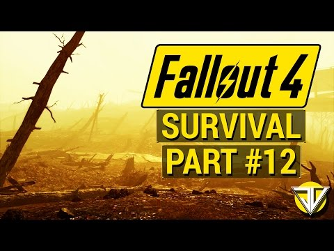 FALLOUT 4: SURVIVAL MODE Let's Play Part 12 - Hunting the COURSER! (PC Gameplay Walkthrough)