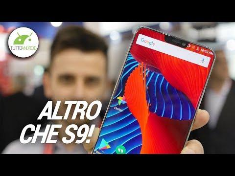 Lo smartphone PIÙ BELLO di MWC 2018! (per ora) | Anteprima Ulefone T2 Pro | ITA