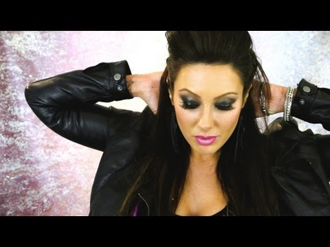 Rocker Chic Style (Makeup, Hair & Outfit)