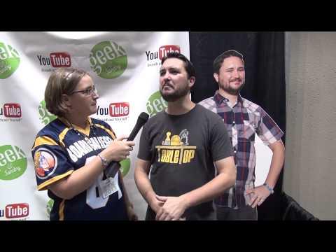 Wil Wheaton Interview - Gen Con 2013