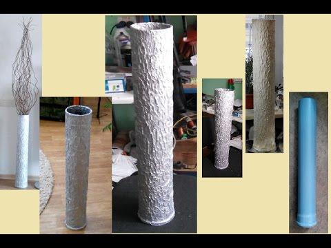 Как сделать вазу своими руками ютуб 68