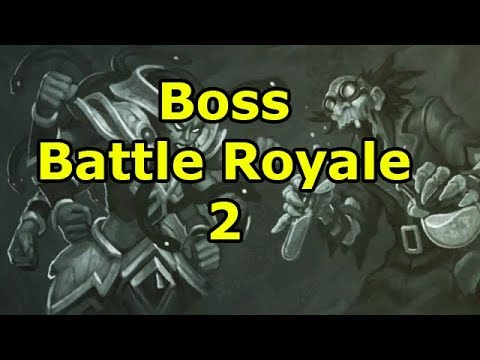 Hearthstone Tavern Brawl: Boss Battle Royale 2