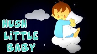 Hush Little Baby | Classic Lullaby With Lyrics | Popular Nursery Rhymes For Kids