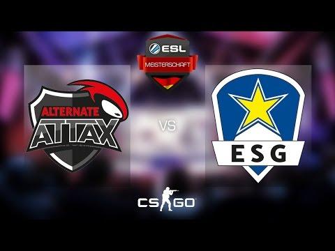 CS:GO - aTTaX vs. Euronics [Overpass] Map 2 - Grand Final - ESL Meisterschaft Winter Finals 2016