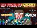 Kekuatan 4Brothers!! (4Brother Vs Herobrine) | Episode 3   Animasi Minecraft Indonesia
