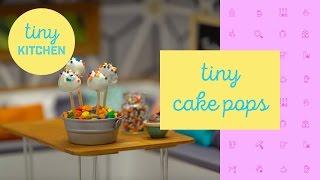 Tiny Cake Pops | Tiny Kitchen