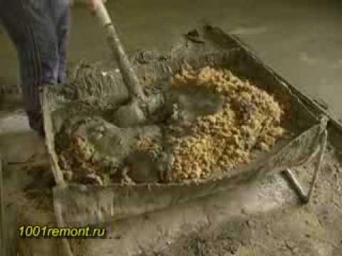 Цементный раствор - 1001remont.ru