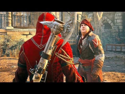 Assassin's Creed Unity Ancient History with Legendary Arno Ultra Settings