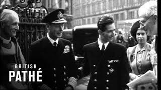 King Peter Of Yugoslavia & Royal Family (1945)