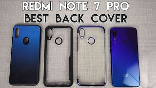 Best Back Cover For Redmi Note 7 Pro | Transparent & Glass Case