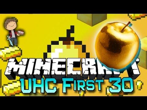 Minecraft: UHC First 30! Constructive Criticism Appreciated!