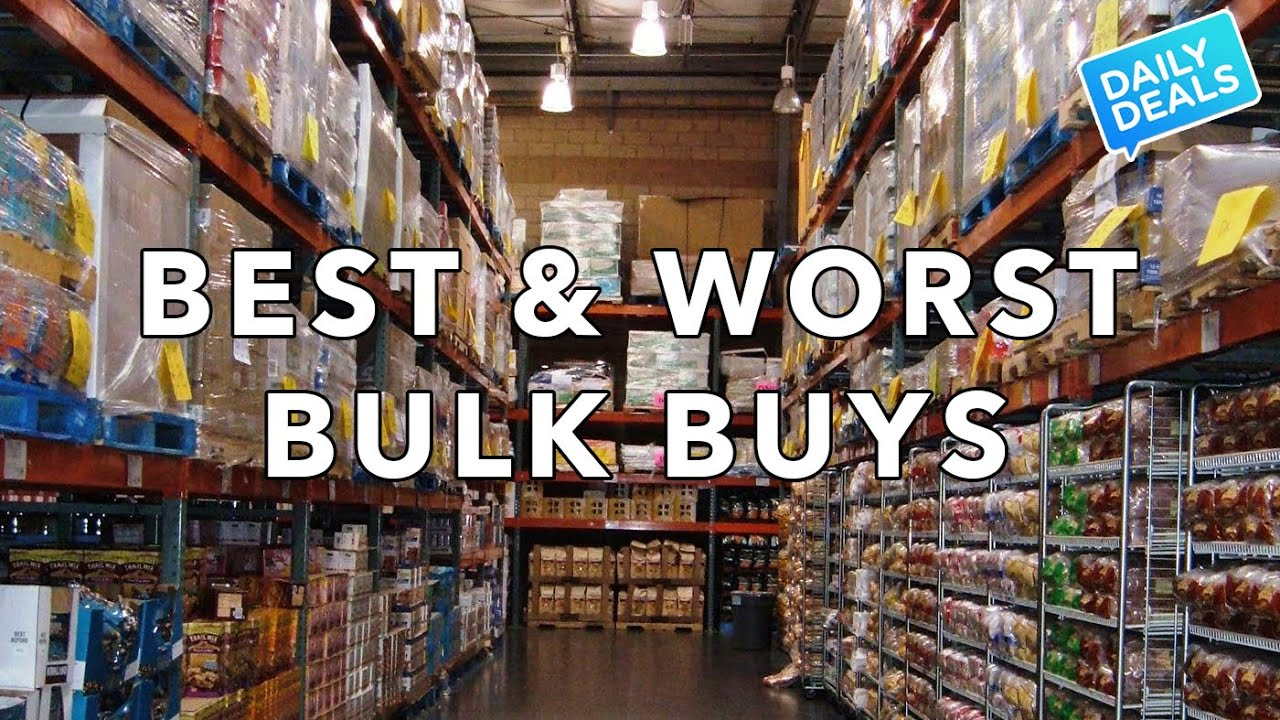 Best amp worst bulk buys bj s costco sam s club the deal guy