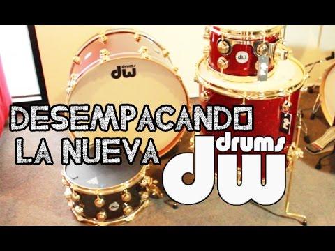 Desempacando La Nueva DW Drums!!