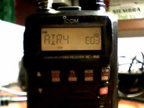 Airband scanning with ICOM IC-R6 receiver