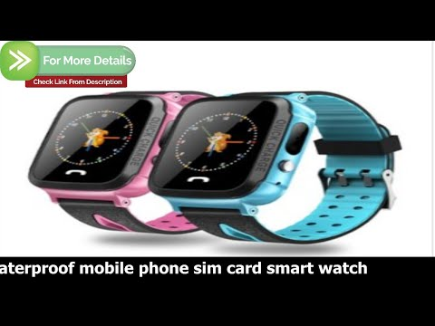 waterproof mobile phone sim card smart watch -  Review: wim y1 smart watch for android and ios