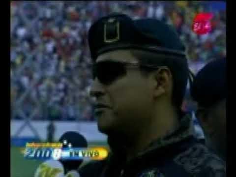 Paracaidistas de Honduras  en Desfile 15 de Septiembre 2008