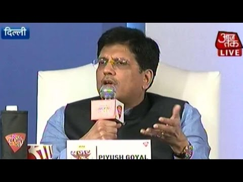 Budget AajTak: Piyush Goyal & Sachin Pilot On Land Bill, Inflation & More