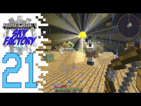 Sky Factory 2.5 (Modded Minecraft) - EP21 - The Man With The Plan