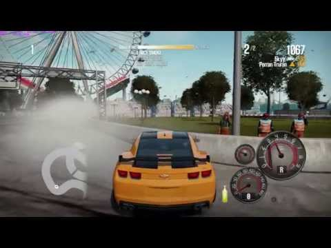 Need For Speed Shift 2 Unleashed Transformer 3 Camaro Ss Drift And Race Gameplay video