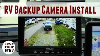 Haloview Wireless RV Backup Camera Installation