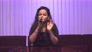Lily Tilahun - Live Worship @ Ethiopian Christians Fellowship Church Huston, Texas USA