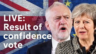 Vote of no confidence over Brexit: LIVE RESULT|#BREXIT