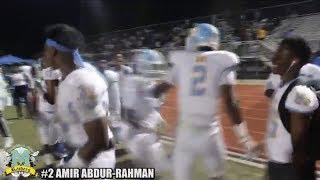 Mays HS Raiders Defeat Langston Hughes HS Panthers Winning 32-20 (Full Game Highlights)