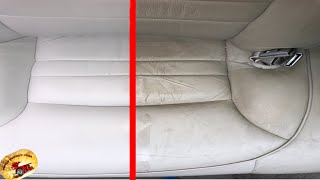 How To SAFELY Clean & Condition Any COATED Leather or Vinyl Back To Brand New