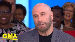 'GMA' Hot List: John Travolta shares the inspiration behind his shaved head l GMA