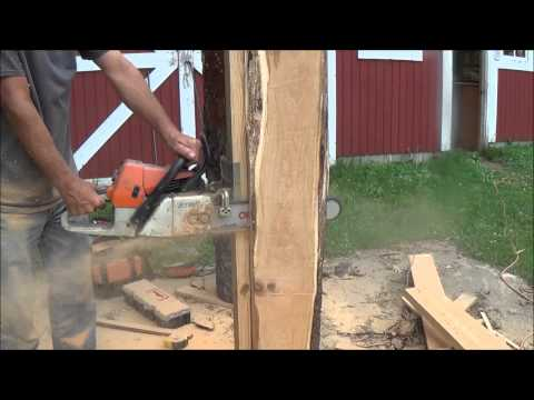MICRO/MINI Chainsaw Sawmill. I Had My doubts. WOW!