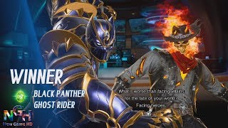 GHOST RIDER AND BLACK PANTHER DEFEAT FULL BATTLE NEW GAME HD