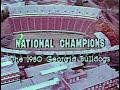 1981 Sugar Bowl (Georgia 17, Notre Dame 10)