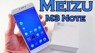 Обзор Meizu M3 Note