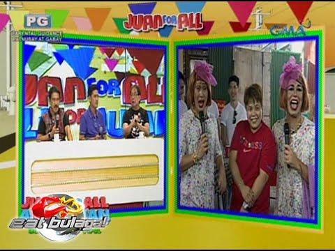 Eat Bulaga: 'Sugod Bahay' winner, nag-sorry sa bad joke