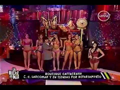 Desfile de Hermosas Mujeres en Lenceria con camara lenta