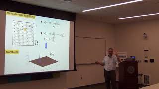 "Dr. Houman Owhadi: ""A Game Theoretic Approach to Numerical Approximation and Algorithm Design"""