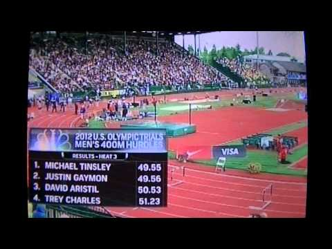2012 U.S. Olympic trials men's 400m hurdles prelims
