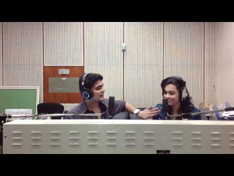 Paras And Sharanya LIVE in Bahrain On 104.2 Your Fm.