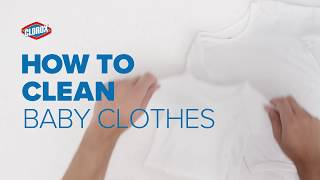 How to Wash Baby Clothes | Clorox®