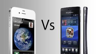 iPhone 4s vs Xperia Arc