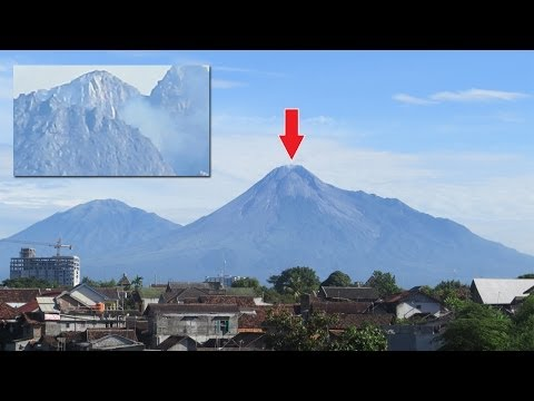 Super zoom Test (Canon Powershot SX50 SH) - Volcano Mountain
