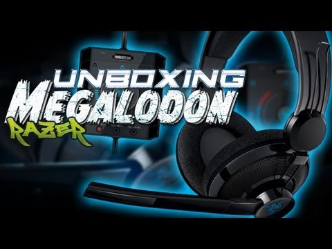 Unboxing Headset Megalodon de Razer