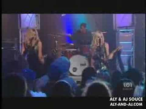 Aly & AJ on CD USA - Chemicals React