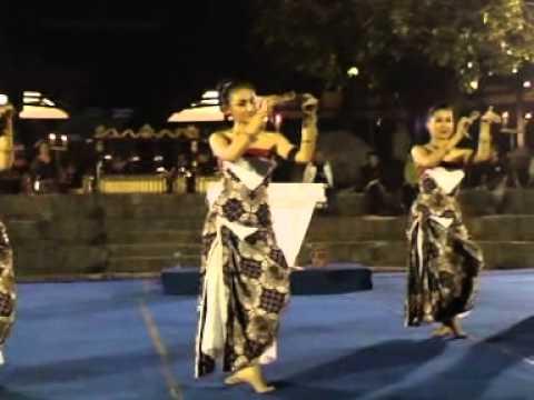 Tari Nyanting, Yogyakarta video