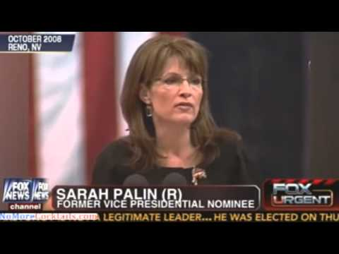 "Sarah Palin: Obama's ""indecision"" & moral equivalence"" would encourage Putin to invade Ukraine"